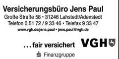 VGH Versicherungsbüro Jens Paul